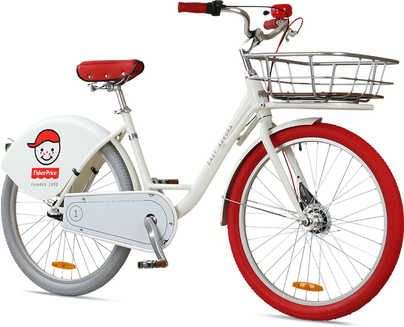 Corporate Bike Share for Fisher Price.