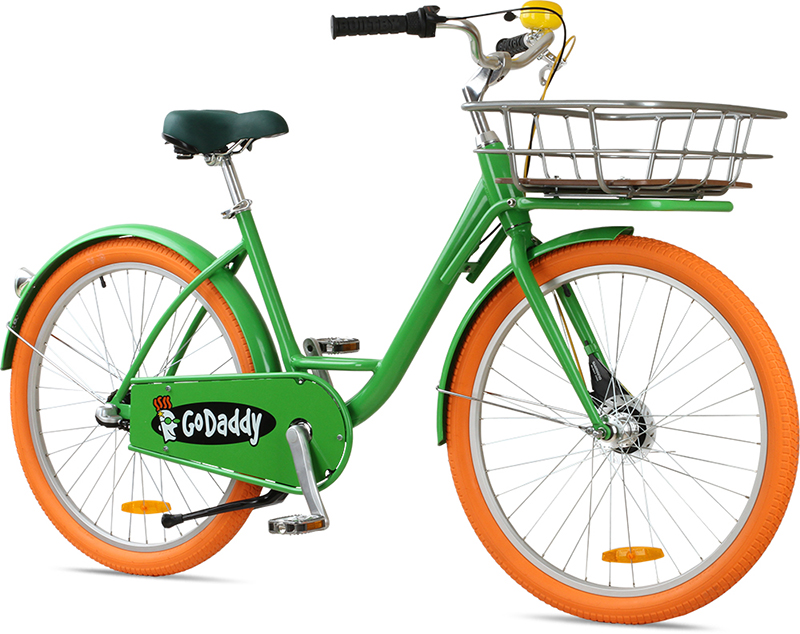 Corporate bike share for GoDaddy.