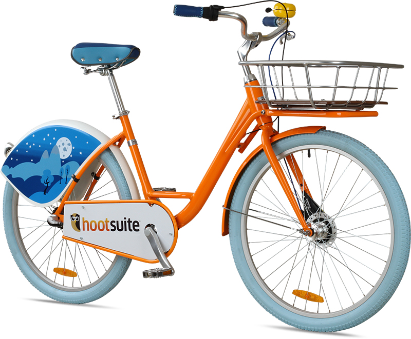 Corporate Bike Share for Hootsuite.